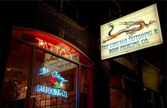 Since 1973, Chicago Tattoo has continued to be the leading tattoo and body piercing establishment. CTC is Chicago's and Illinois' oldest tattoo studio. Splash Image