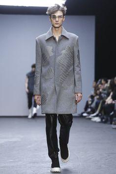 Xander Zhou Menswear Fall Winter 2015 London