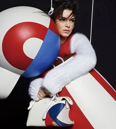 ☆ Kendall Jenner | Photography by Karl Lagerfeld | For Fendi Campaign | Fall…