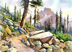 Astoria Valley Trail and Mt. Blackhorn. Greg Johnson
