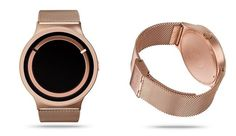 Ziiiro Eclipse Rosegold, a new concept of watch. minimalism to the highest level