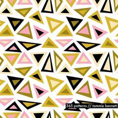 licorice triangle :: #365patterns - tammie bennett