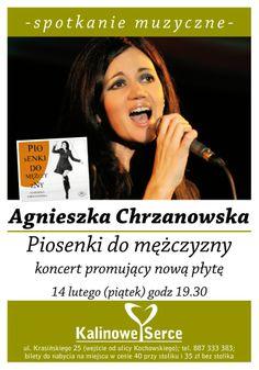 #AgnieszkaChrzanowska Piosenki do mężczyzny #koncert w #KalinoweSerce