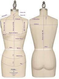Image result for sewing measurements chart