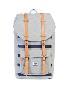 Herschel Little America Offset Bag Grey | #StyleMadeEasy