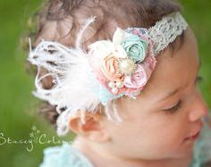Baby Girl Headband Baby Headband Well Dressed Wolf Lake