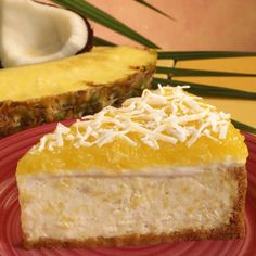 If you love pineapple, and you love cheesecake, this Pineapple Cheesecake is a must try.  This cheesecake recipe calls for a little rum which adds extra flavor.. Pineapple Cheesecake Recipe from Grandmothers Kitchen.