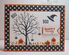 Halloween Sheltering Tree, Happy Scenes and September Paper Pumpkhttp://cardiologybyjari.com/stampin-up-september-paper-pumpkin/in!