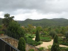 Even without the sun shining, the Castell son Claret, in Majorca, is a favorite on the 2014 #TL_ItList. Photo courtesy of T+L's Kathy Roberson.