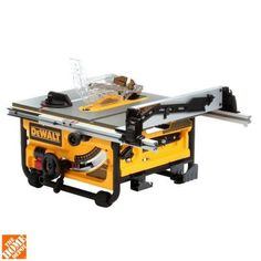 DEWALT 10 in. Compact Job Site Table Saw with Site-Pro Modular Guarding System-DWE7480 - The Home Depot