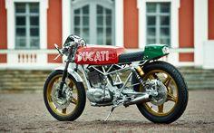 Vento 350 by Renard Speed Shop | Inazuma café racer