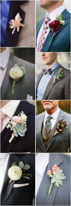 Wedding Ideas » Wedding Boutonniere » 23 Wedding Boutonniere Ideas You Cannot Resist! ❤️See more:http://www.weddinginclude.com/2017/03/wedding-boutonniere-ideas-you-cannot-resist/