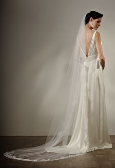 Iris, low back gown