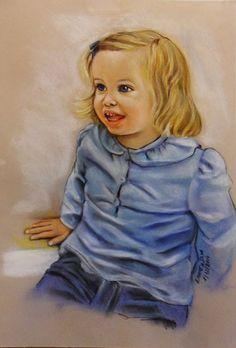 Retrato a Pastel