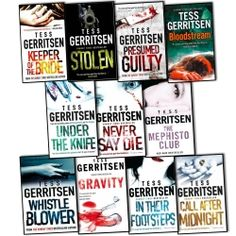 Tess Gerritsen Collection 11 Books Set Pack