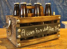 Hey, I found this really awesome Etsy listing at http://www.etsy.com/listing/125639539/custom-built-rustic-6-pack-beer-holder