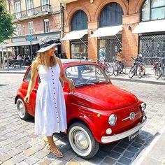 Fiat500nelmondo (@fiat500nelmondo) • Foto e video di Instagram Hipster, Fiat 500, Video, Instagram, Women, Style, Fashion, Swag, Moda