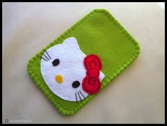 Hello Kitty felt case