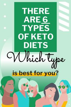 """There are 6 types of keto diets. One meant for those who workout, one meant for those who are """"lazy"""", and one meant for you. See which of these 6 keto diets you should start with to see the most weight loss. Keto Diet Guide, Paleo Diet Plan, Diet Plans, Keto Dessert Easy, Keto Desserts, Keto Recipes, Keto Flu Symptoms, Keto Carbs, Health Eating Plan"""