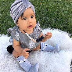 How adorable is this little babe! This Addison Teething Necklace is a great accessory that adds style and function! Elliptical Machines, Teething Necklace, Baby Care, Little Ones, Babe, Fun, Style, Necklaces, Swag