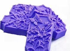 Decorative Gift Soap - Purple Butterfly Garden in Lilac and Freesia - Etsy Purple Love, All Things Purple, Plum Purple, Shades Of Purple, Lilac, Periwinkle, Mauve, Butterfly Bedroom, Purple Butterfly