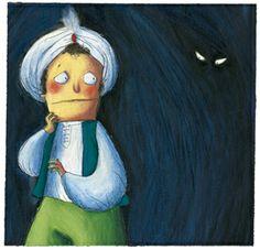 Claudia Ranucci ilustra Ramiro, el príncipe miedoso. Edelvives incluye este cuento de Lola Núñez y Rocío Antón en el colección Buenos de cuento para primeros lectores.