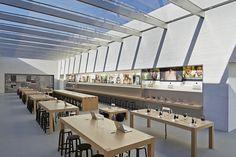 Apple store by Bohlin Cywinski Jackson Palo Alto  California