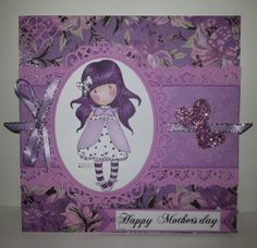 Gorjuss card for mother's day