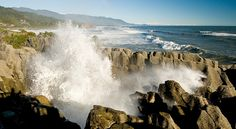 Punakaiki Pancake Rocks and Blowholes!