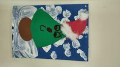 Χριστουγεννιάτικη κάρτα δένδρο-Αγιοβασίλακι.