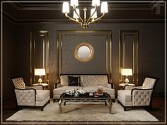 Гостиная комната - Галерея 3ddd.ru