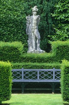 restful garden places / repinned on toby designs #formalgardens
