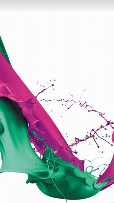 赤と緑のペンキをこぼしたようなiPhone壁紙 | iPhone7, スマホ壁紙/待受画像ギャラリー