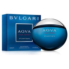 Bvlgari Aqua Atlantique by Bvlgari 3.4 oz Eau De Toilette Spray for Men NIB #CarolinaHerrera