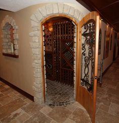 Wine Cellar floor
