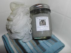French Vanilla Pear Foot Scrub with Organic Shea Butter, Ground Pumice, & Coconut Oil