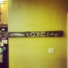 Gorgeous Hand Painted Trout on 100 year old barn wood by ShoppeDeCoeur, $175.00