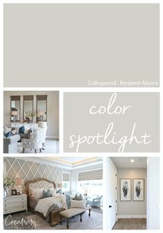 Benjamin Moore Collingwood Color Spotlight Benjamin Moore Collingwood Is One Of The Most Versatile Greige Neutral Paint Colors Out There And Also One Of Benjamin Moore 39 S Most Popular Colors Paint Colors For Living Room, Paint Colors For Home, Bedroom Colors, House Colors, Paint Colours, Colors For Bedrooms, Best Neutral Paint Colors, Neutral Style, Benjamin Moore Couleurs