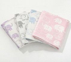Elephant Stroller Blanket