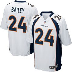 Authentic Champ Bailey Jersey - Nike Women s Kids  Orange Broncos ... fa792d5d0