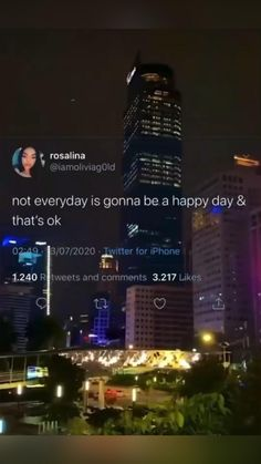 Happy and sad days