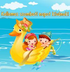 Kellemes szombati napot kívánok! - Megaport Media Share Pictures, Animated Gifs, Sendai, Pikachu, Humor, Halloween, Funny, Fictional Characters, Humour
