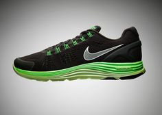 Nike LunarGlide+ 4 - very tasty colourway and I can't wait for iD