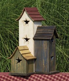 Decorative Birdhouses for your Lawn or Garden