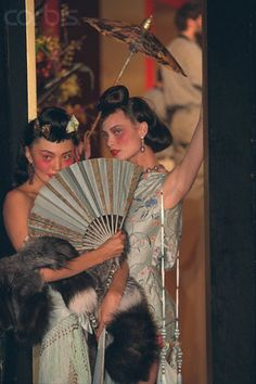 Galliano for Dior F/W 1997 - Model and Shalom Harlow