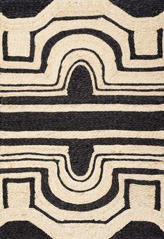 // art pattern black Cream tribal