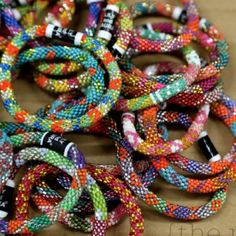 Three Lily and Laura Bracelets Lily and Laura glass bead bracelets are perfect for stacking. One for $10 or three for $25. All 5 including the two from my other posting for $30. Most offers accepted! Lily and Laura Jewelry Bracelets