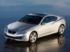 Hyundai Genesis Coupe. #hyundai...  Every time this photo popped up in the media, John Krafcik would go nuts.  He hated the incorrect wheels on this early photo shoot.