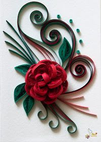 *QUILLING ~     by: neli: Quilling cards-flowers