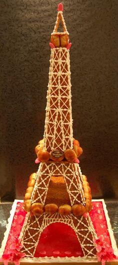 Tour Eiffel en choux